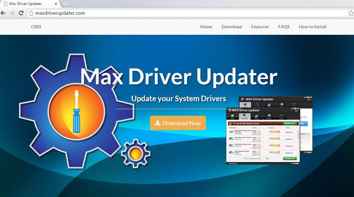 Max driver Updater