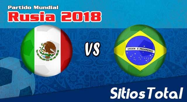 Repetición Brasil vs México – Mundial Rusia 2018 – Completo, Online y Gratis!