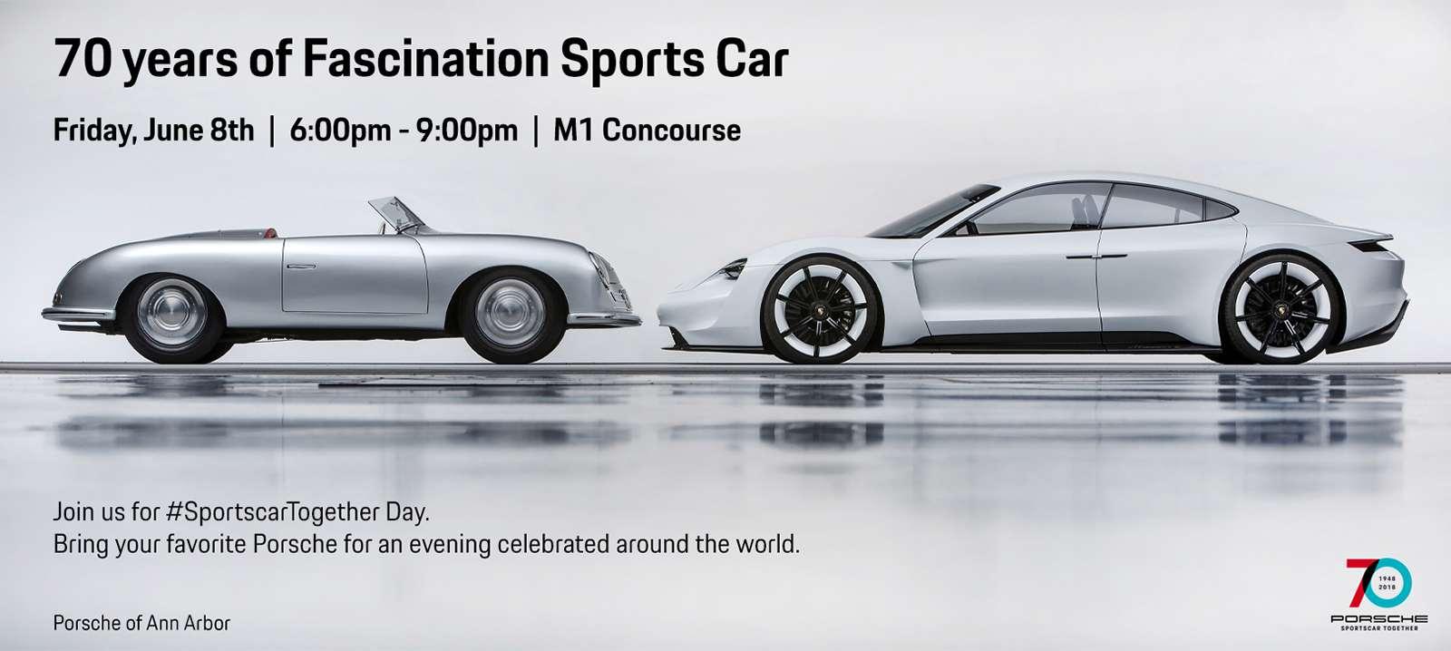 Porsche's 70th Anniversary Celebration