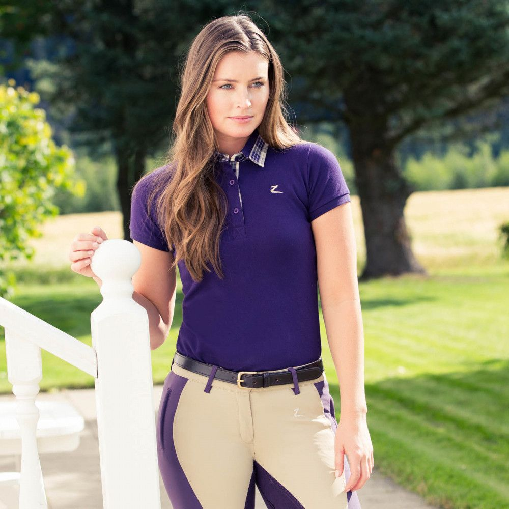 Horze-Brita-Women-039-s-Short-Sleeved-Polo-Shirt-Moisture-Wicking-Anti-Odor thumbnail 11