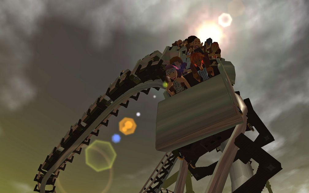 My Downloads - Parks and Coasters - Coaster: Incline Run - Primary Demo Screenshot, Image 01