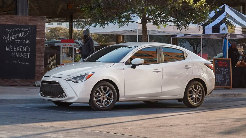 2019 Toyota Yaris Safety
