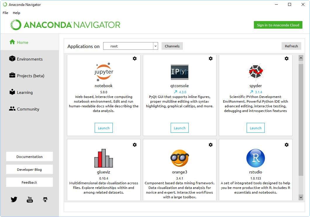 Anaconda and other ways to run Python