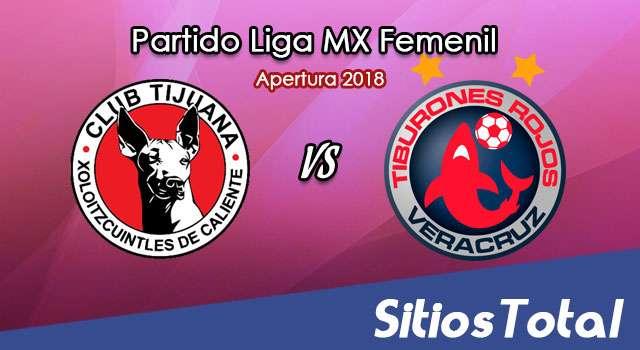 Ver Xolos Tijuana vs Veracruz en Vivo – Liga MX Femenil – Lunes 24 de Septiembre del 2018