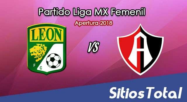 Ver León vs Atlas en Vivo – Liga MX Femenil – Lunes 13 de Agosto del 2018