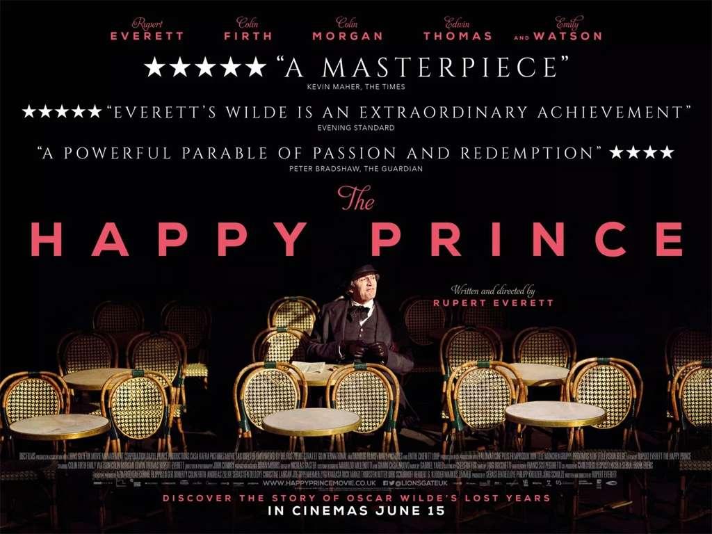 Ευτυχισμένος Όσκαρ (The Happy Prince) Poster Πόστερ Wallpaper