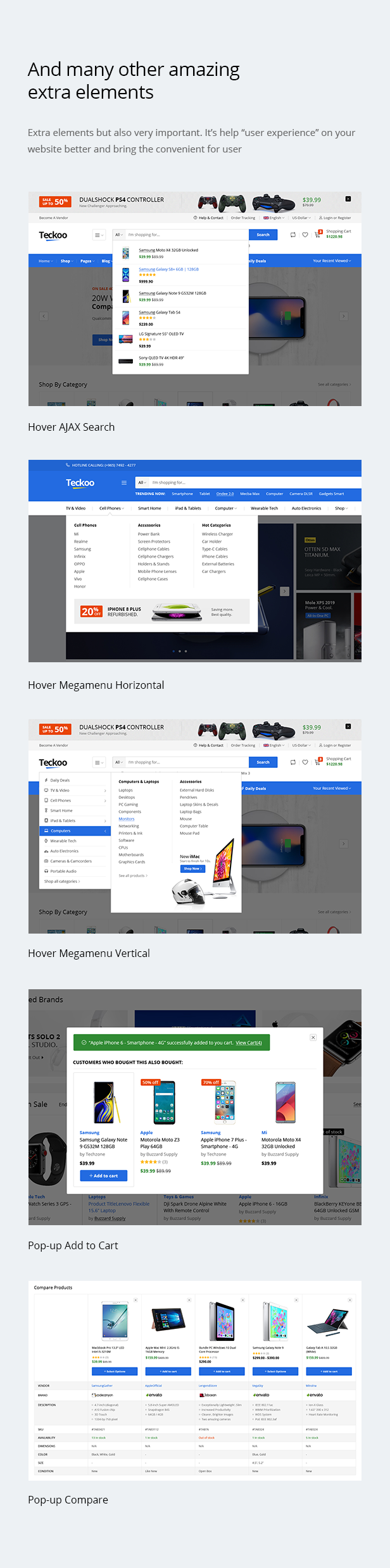Teckoo - Electronic & Technology Marketplace eCommerce PSD Template - 15