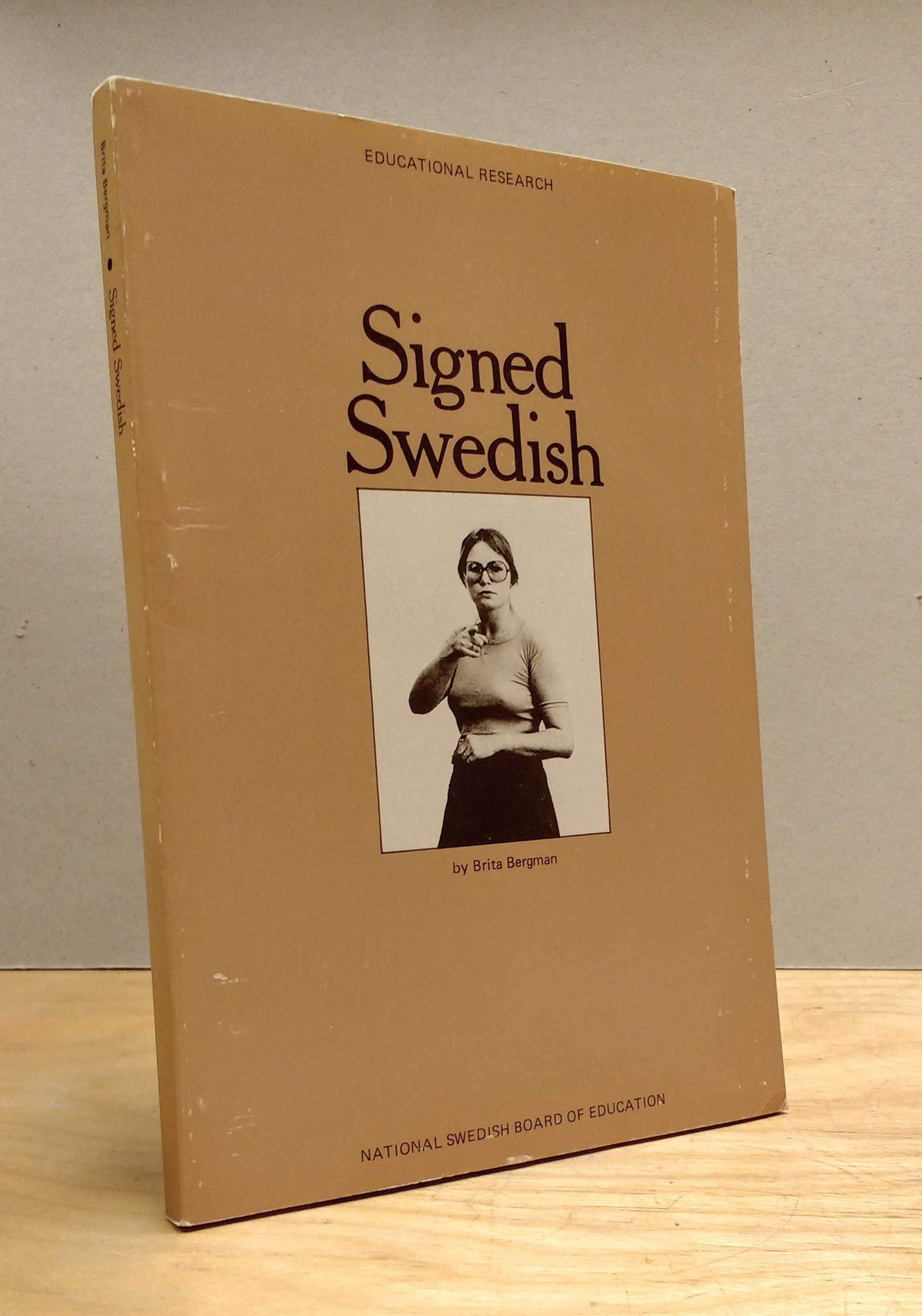 Signed Swedish, Bergman, Brita