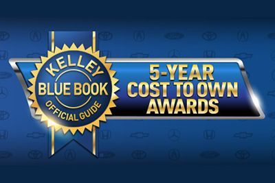 2017 Kelley Blue Book 5-Year Cost to Own Awards Toyota Corolla