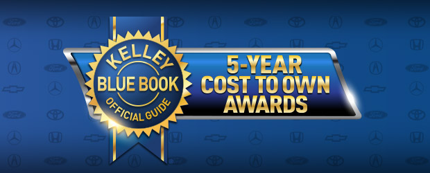 Acura ILX Kelley Blue Book 5-Year Cost To Own Award
