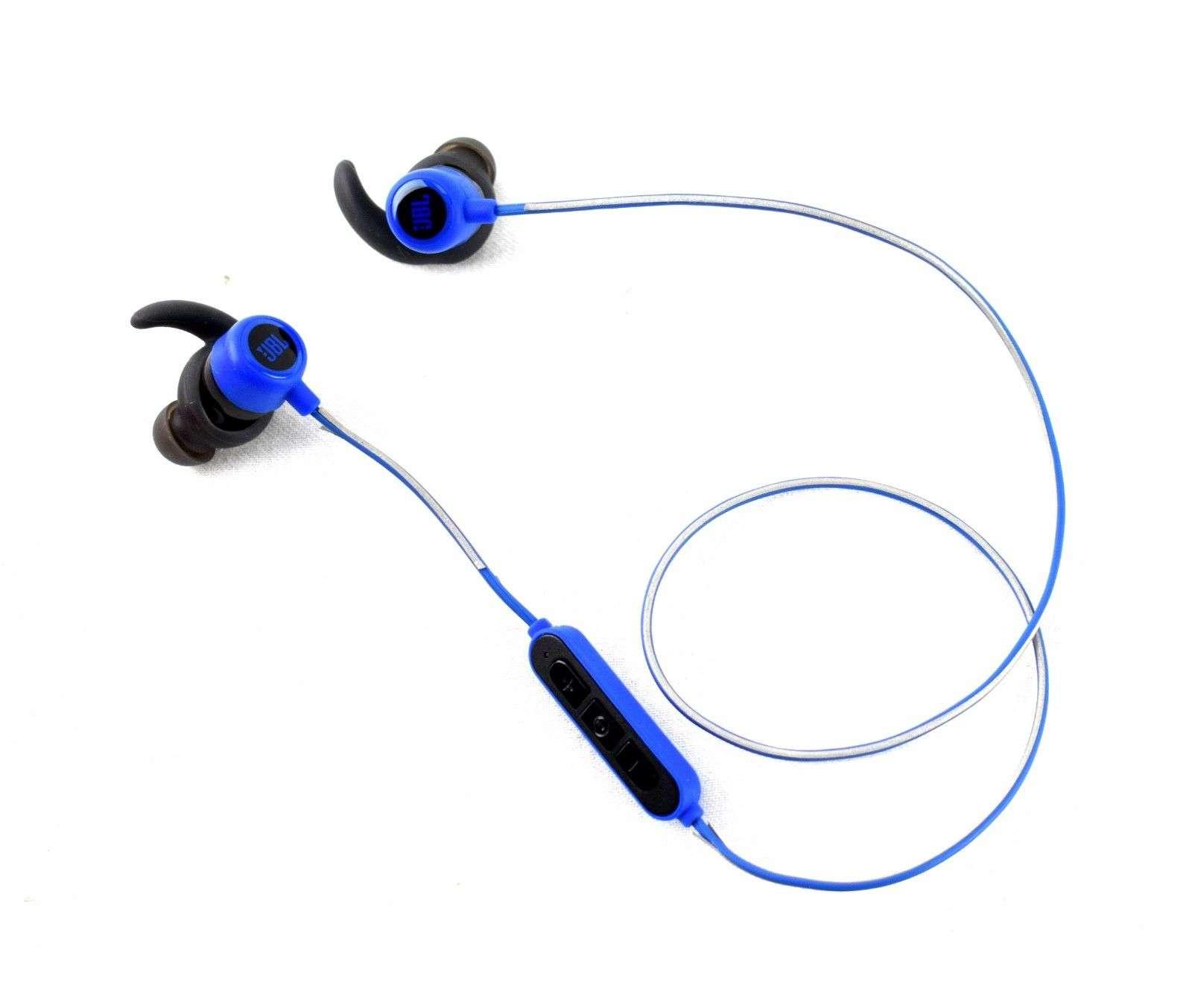 0e2e0a7aa41 JBL Reflect Mini 2 In-ear Wireless Sport Headphones Blue   eBay