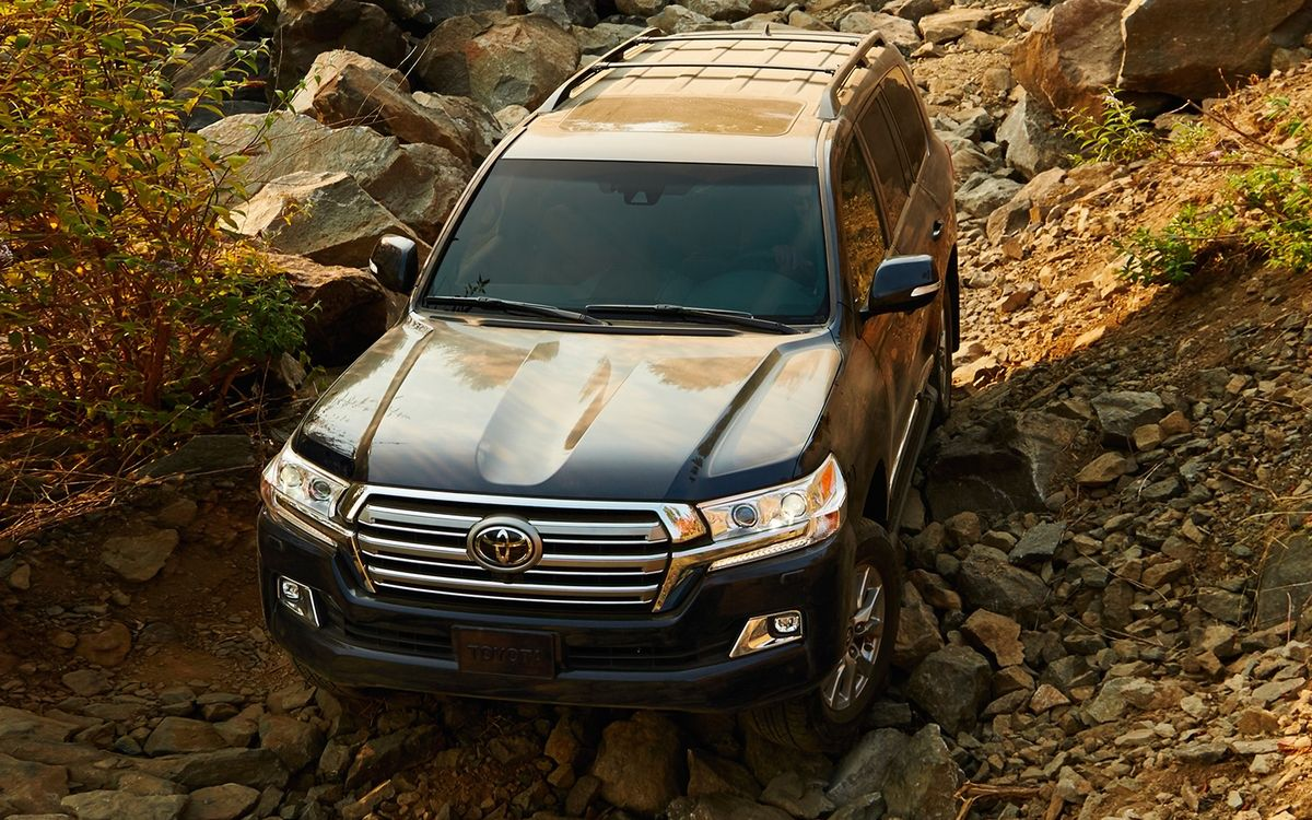Toyota Land Cruiser towing capacity
