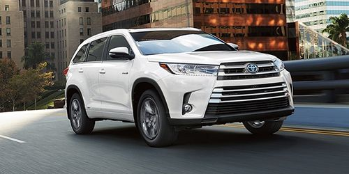 About the Toyota Highlander Hybrid
