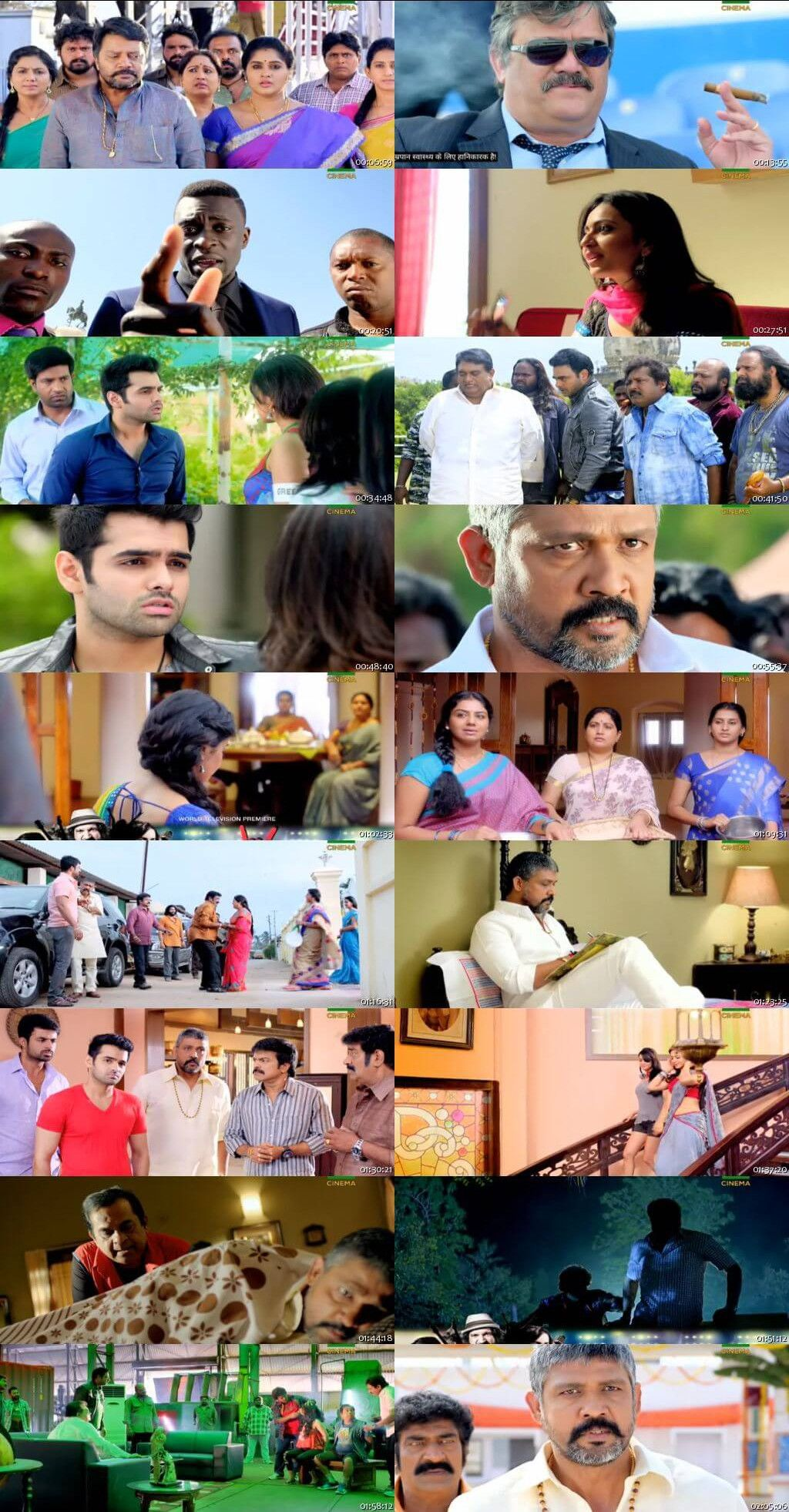 Screen Shots Businessman 2 2017 Full Dual Audio Movie Download