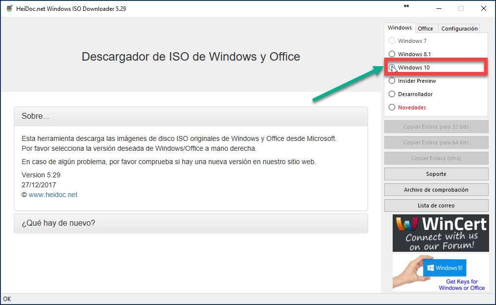 iso windows 10 todas las versiones