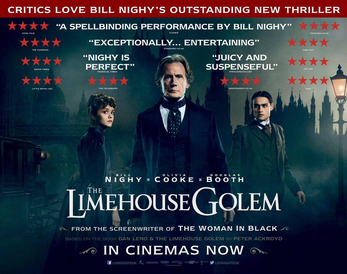 Ημερολόγιο Φόνων (The Limehouse Golem) Movie