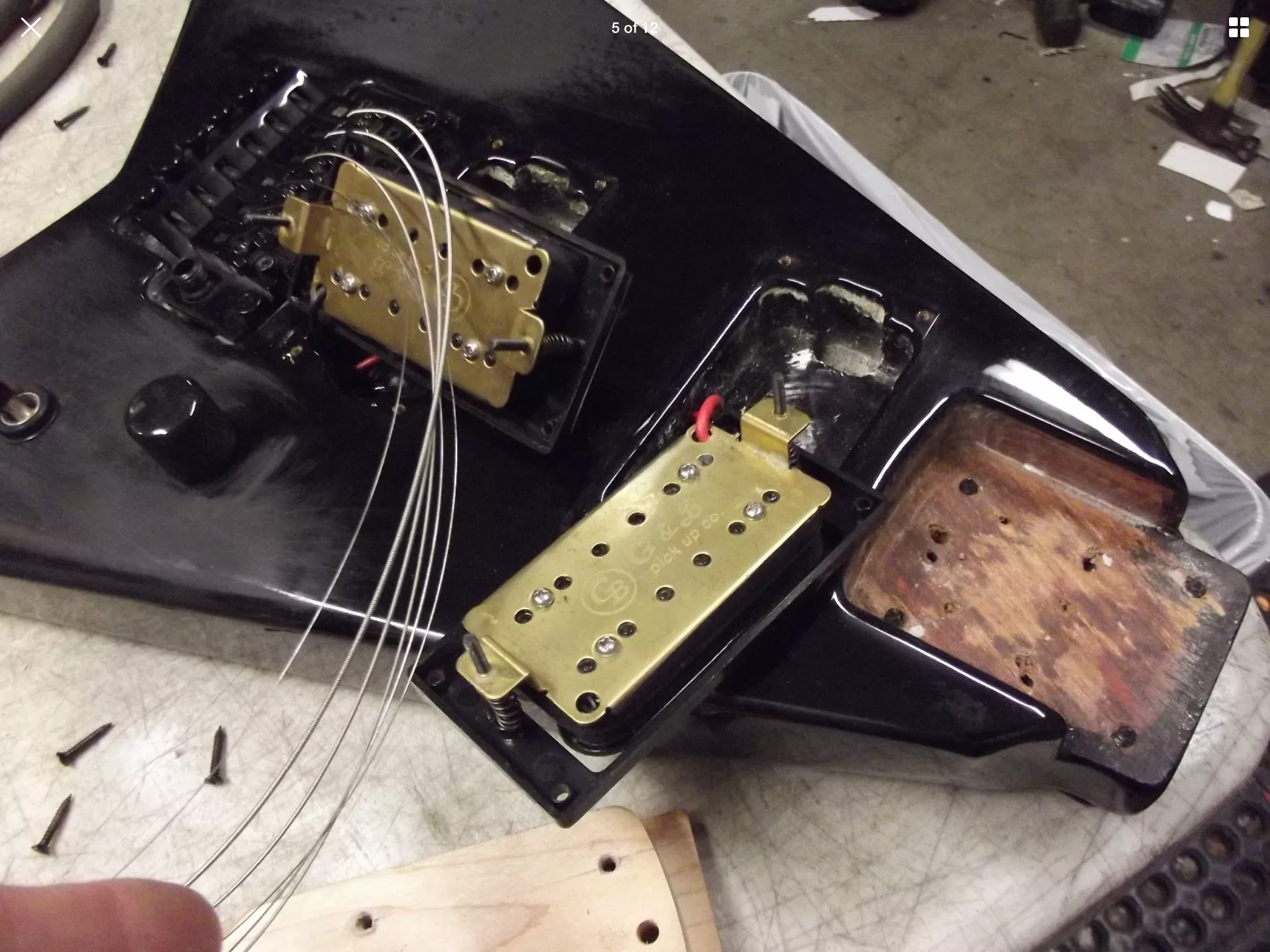 What the f*ck Flying V guitar is this..?!? - Ultimate Guitar Jackson Flying V Wiring on