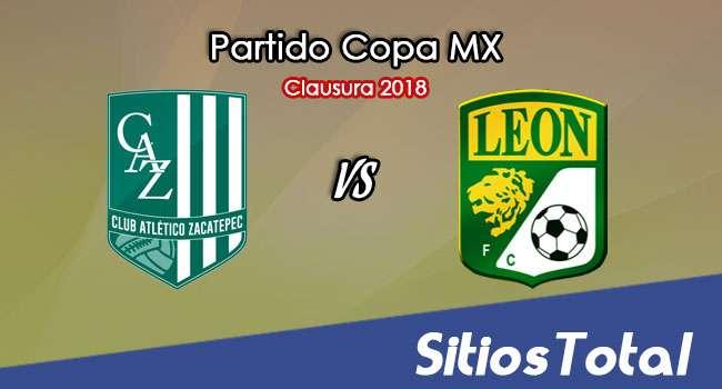 Atlético Zacatepec vs León en Vivo – Copa MX – Martes 13 de Marzo del 2018