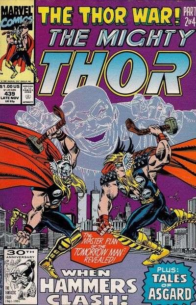 Vient ensuite le gros du menu, à savoir la mini-série Thor Corps elle-même,  écrite par Tom DeFalco là encore, avec l aide de Frenz, et dessinée par Pat  ... 75903151db6