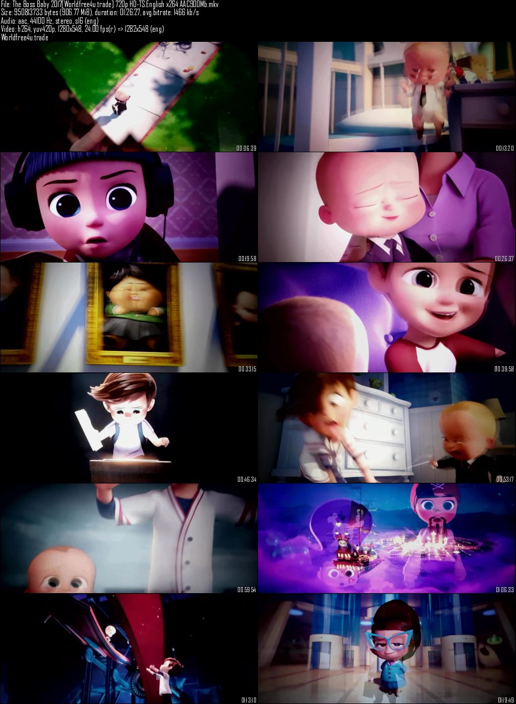 Screen Shots The Boss Baby 2017 Full Movie Download English HDCam