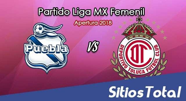 Ver Puebla vs Toluca en Vivo – Liga MX Femenil – Domingo 12 de Agosto del 2018