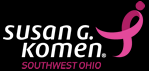 Susan G. Komen Ohio (Donation for the Fight against Breast Cancer) Logo
