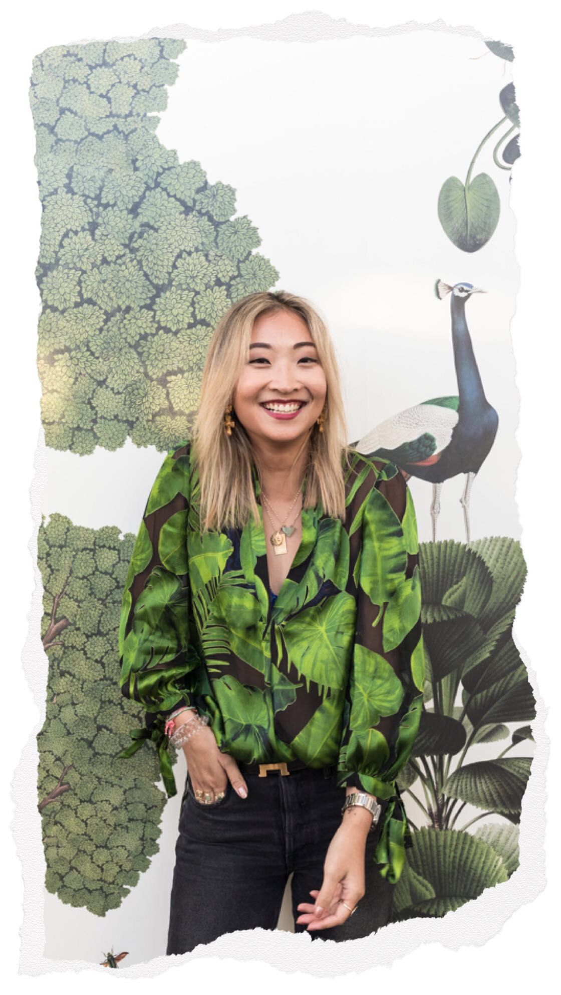 Shopbop x Botanica Dinner, Helen Chik