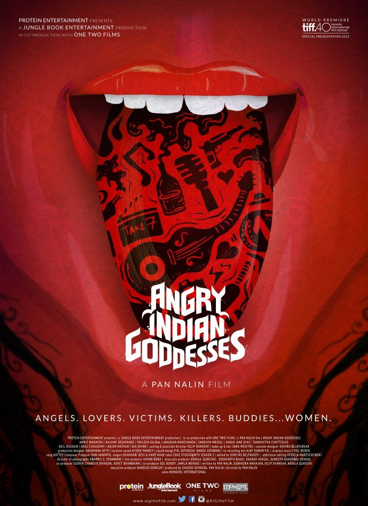Poster Angry Indian Goddesses (2015) Full Hindi Movie Download HD