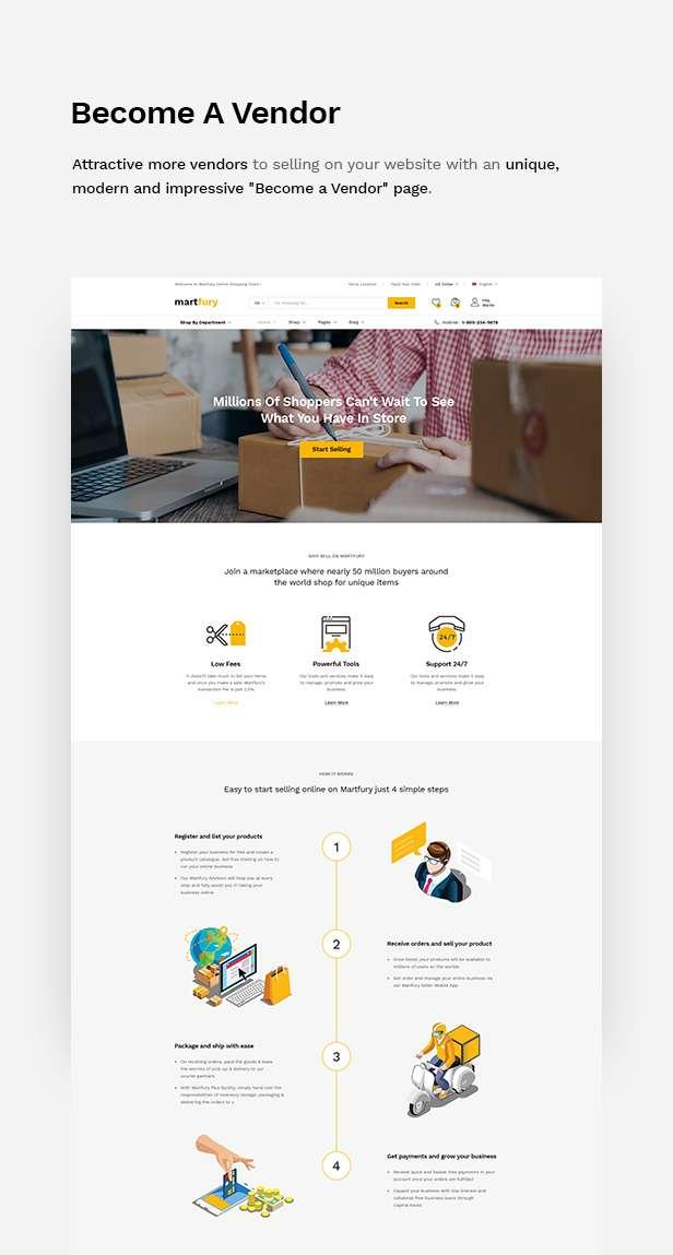 MartFury   Multi-Vendor & Marketplace eCommerce PSD Template - 19