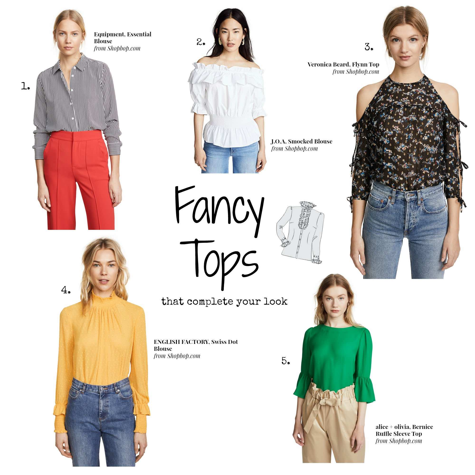 Shopbop Sale - Fancy Tops