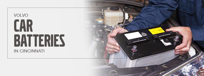 Change Car Battery at Volvo Cincinnati East
