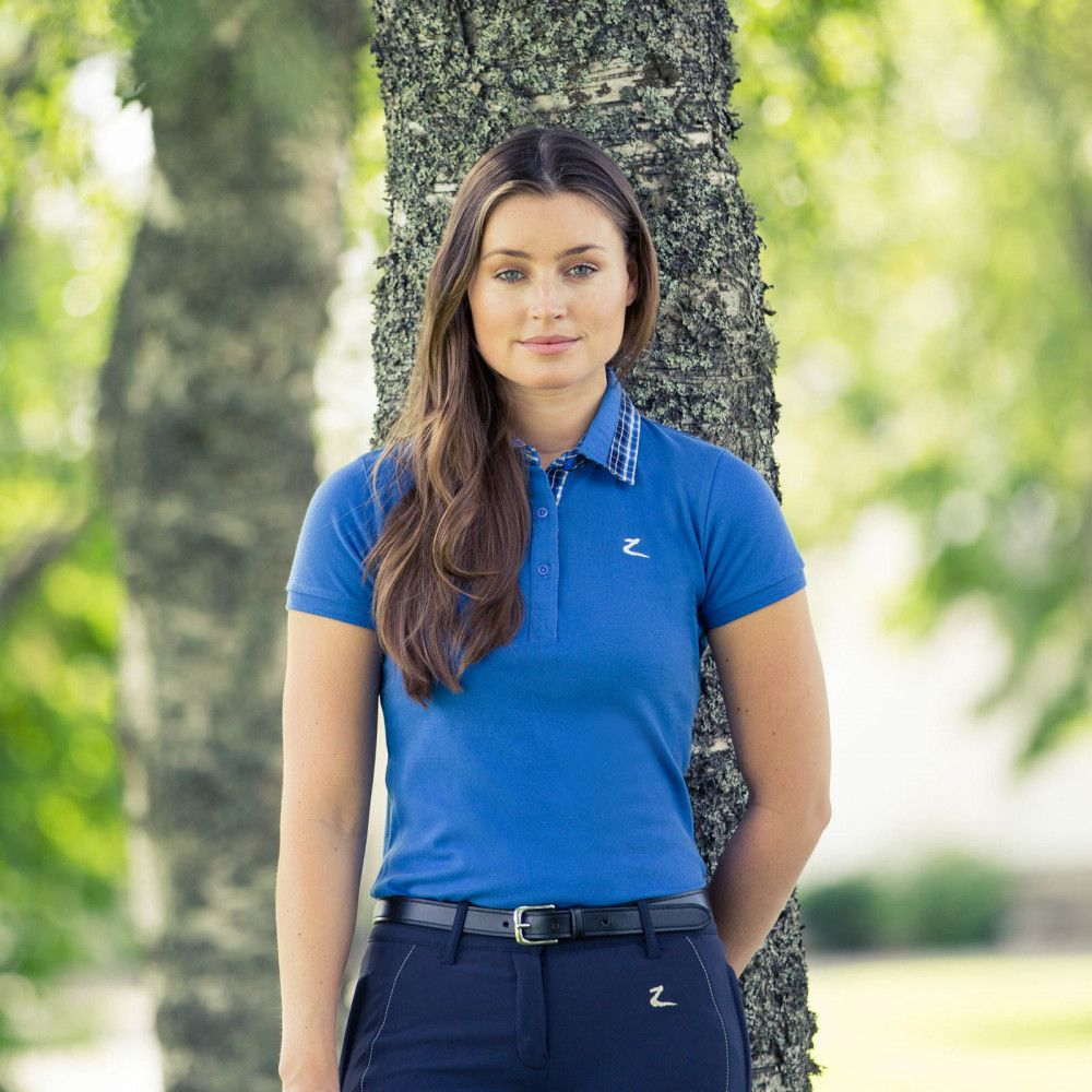 Horze-Brita-Women-039-s-Short-Sleeved-Polo-Shirt-Moisture-Wicking-Anti-Odor thumbnail 15