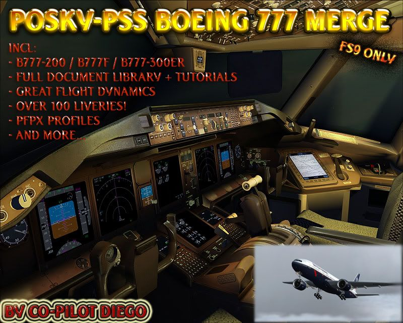 Turkish Virtual Forum - View topic - POSKY-PSS Boeing 777