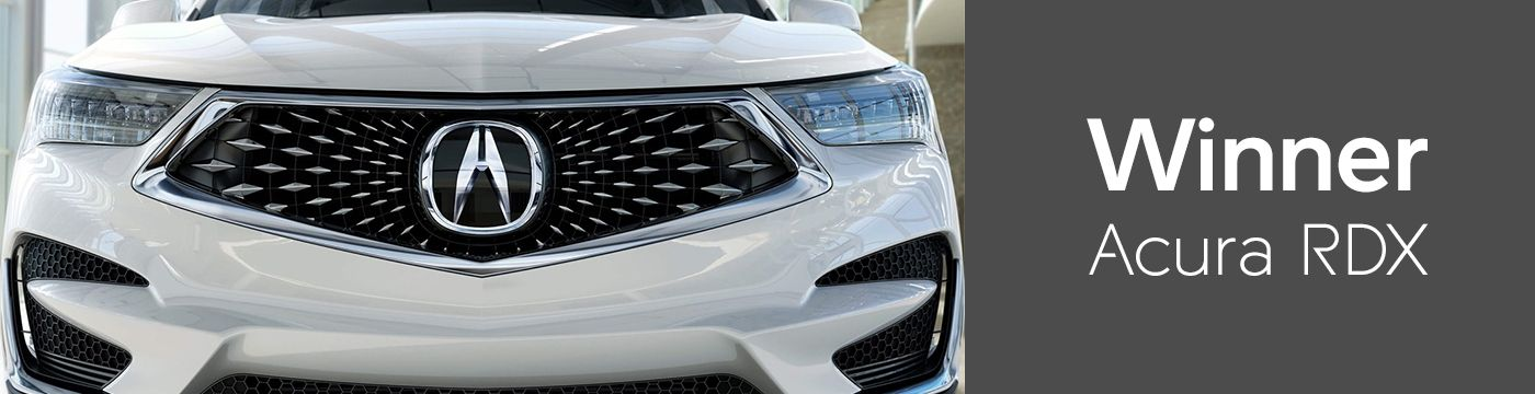 Winner -- Acura RDX