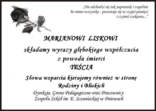 Żyli wśród nas – Henryk Szabowski