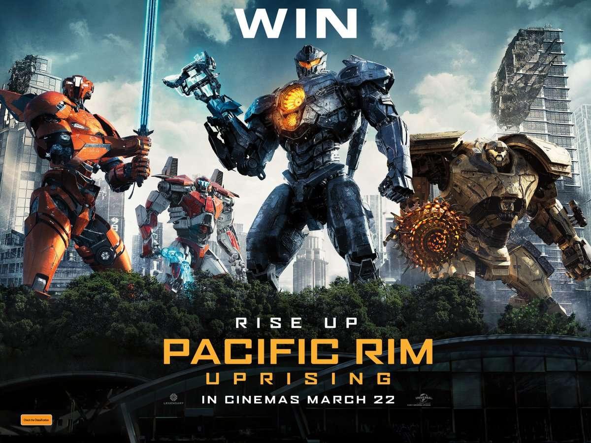Pacific Rim: Εξέγερση (Pacific Rim: Uprising) Quad Poster Πόστερ