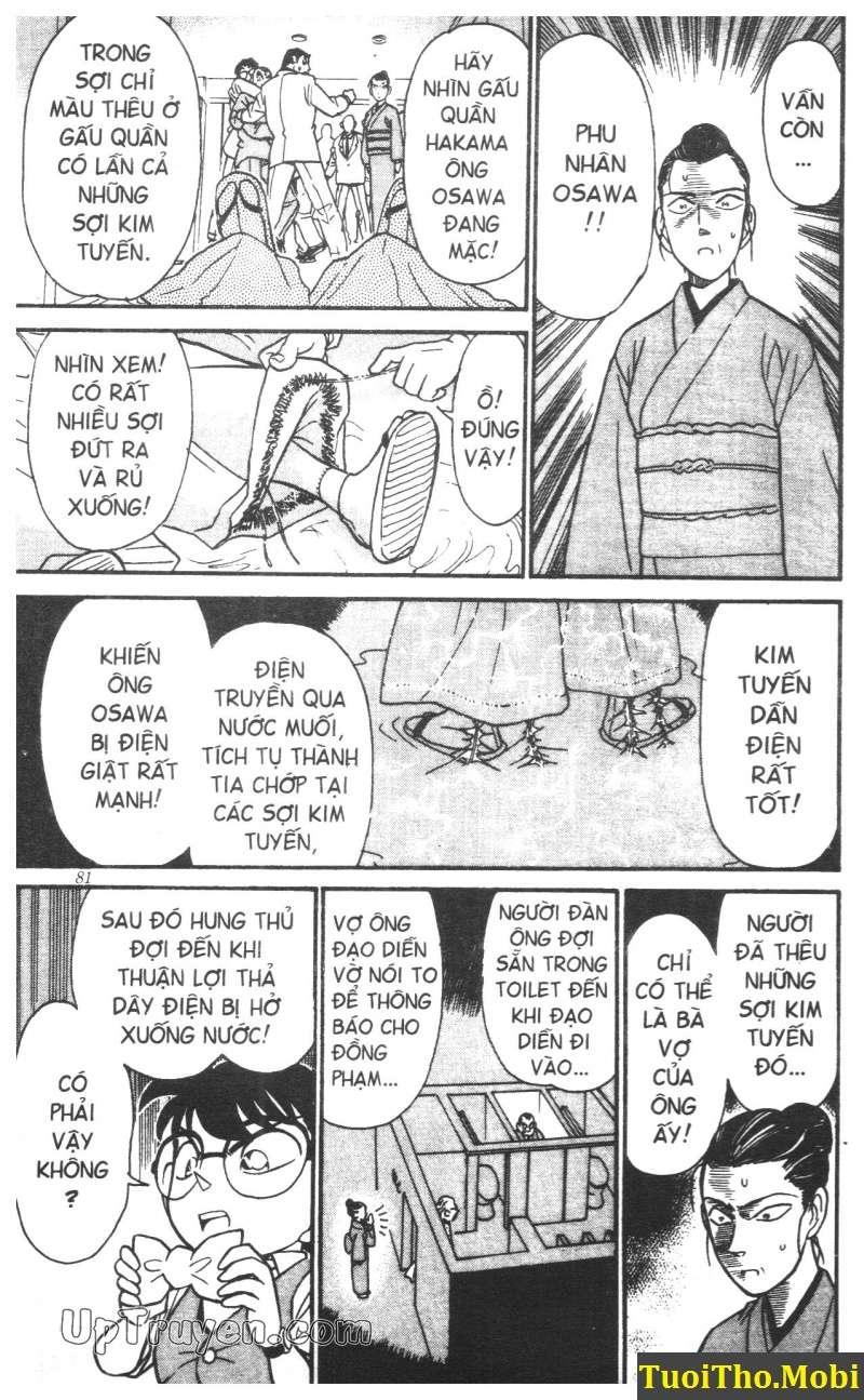 đọc truyện Conan bộ đặc biệt chap 4 trang 16
