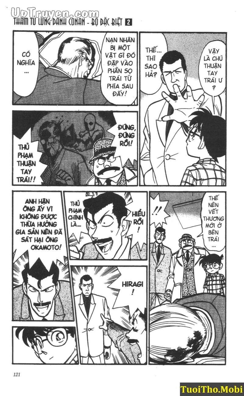 đọc truyện Conan bộ đặc biệt chap 15 trang 6