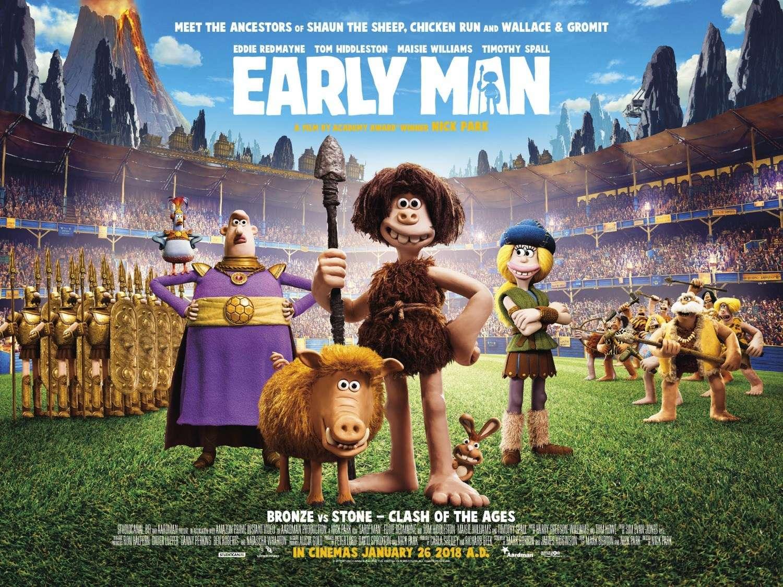 Ο Άνθρωπος των Σπηλαίων (Early Man) Movie