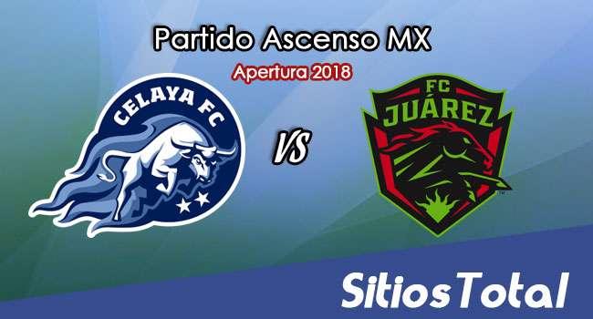 Ver Celaya vs FC Juarez en Vivo – Ascenso MX en su Torneo de Apertura 2018