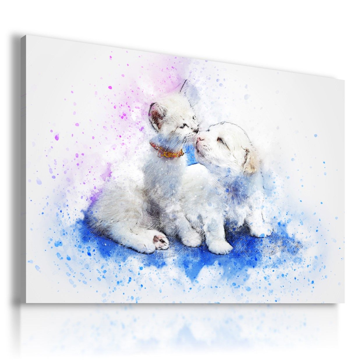 POLAR BEARS Domestic And Wild Animals Canvas Wall Art Picture AN156 X MATAGA