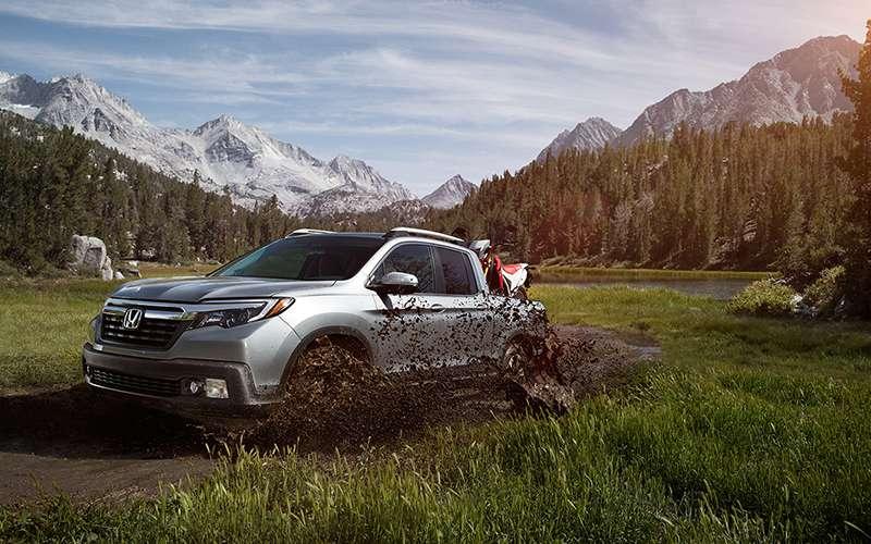 2019 Honda Ridgeline Off-Road Capability