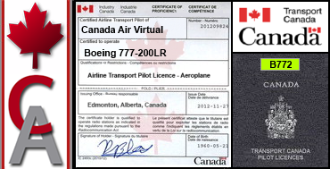 Boeing 777-200LR Certification Flight