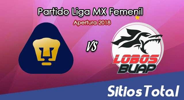 Ver Pumas vs Lobos BUAP en Vivo – Liga MX Femenil – Sábado 11 de Agosto del 2018