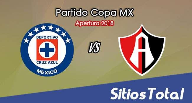 Cruz Azul vs Atlas en Vivo – Copa MX – Miércoles 8 de Agosto del 2018