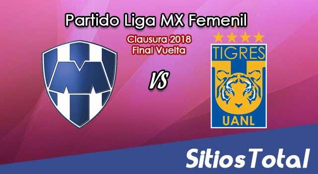 Monterrey vs Tigres en Vivo – Final Vuelta – Liga MX Femenil – Viernes 4 de Mayo del 2018