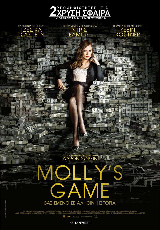 Molly's Game Poster Πόστερ