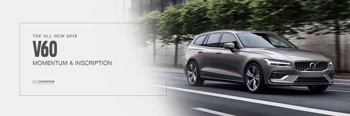 All-New 2019 Volvo V60 Coming Soon at Volvo Cincinnati North