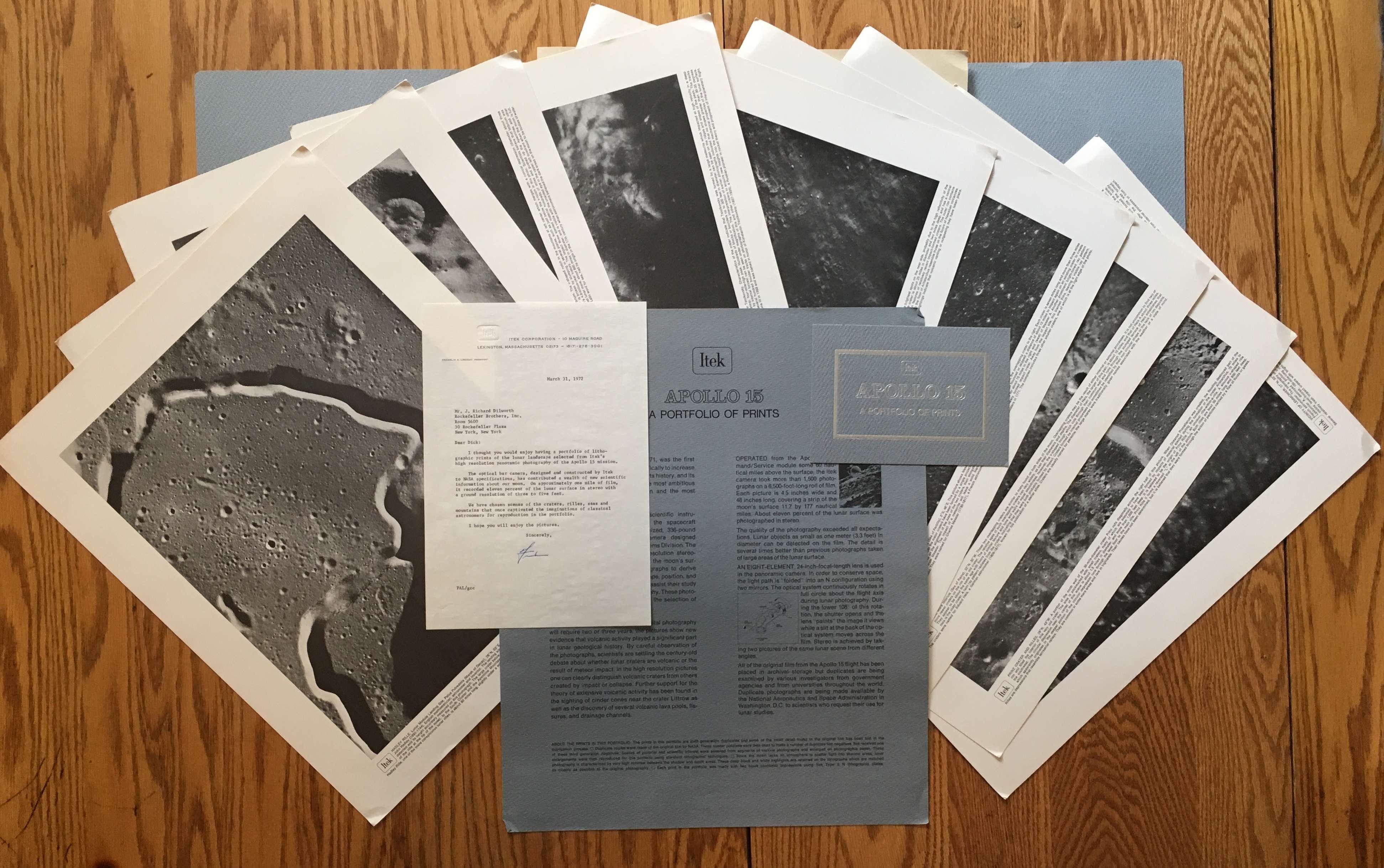 Apollo 15: A Portfolio of Prints