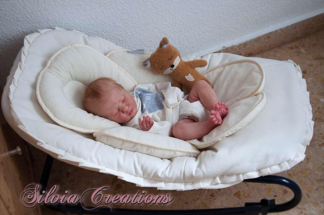 Silviacreations Realborn R Logan Asleep Bountiful Baby